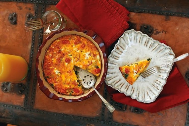 Whitney Miller's Sausage and Egg Pie