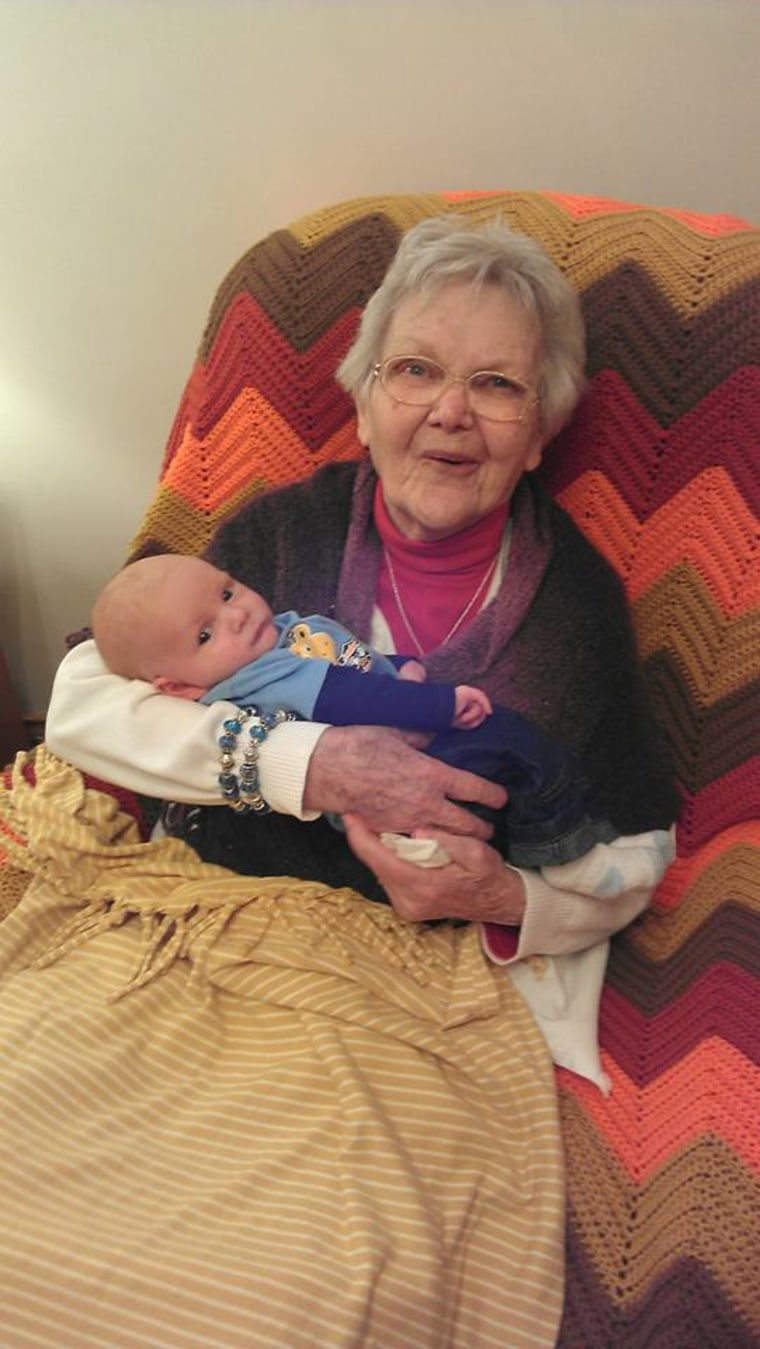 """Jessica Lynn Ross says her great-great-grandmother loved Ross' son """"to pieces."""""""
