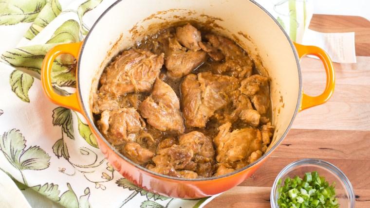 Braised Soy-Honey-Garlic Chicken recipe