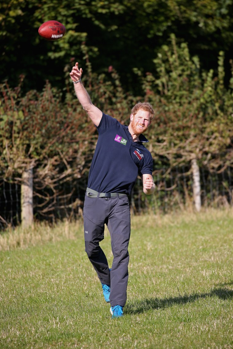 Image: Prince Harry Joins Walking With The Wounded's Walk Of Britain