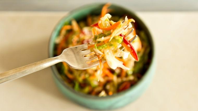 Crunchy Asian Slaw recipe
