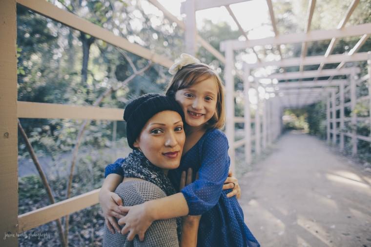 Rachel Regal and Ellie Regal, 7, in 2013.