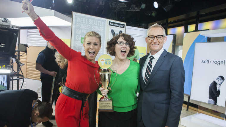 TODAY Show's Next Big Thing winner Leslie Pierson