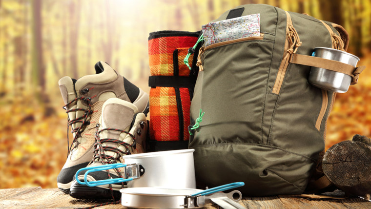 Camping equipment is a good buy in October