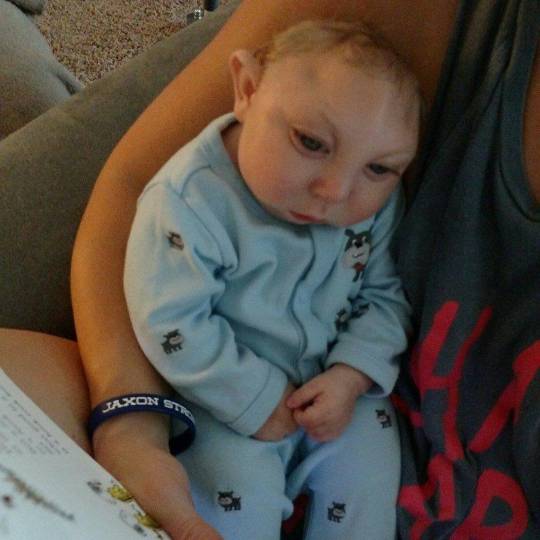 """""""We believe he can be here as long as he wants to,"""" Jaxon's dad says."""