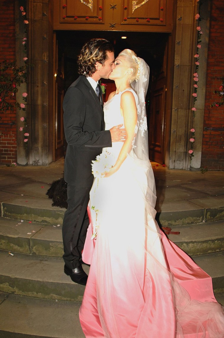 Image: Gwen Stefani and Gavin Rossdale Wedding on Saturday, September 14, 2002