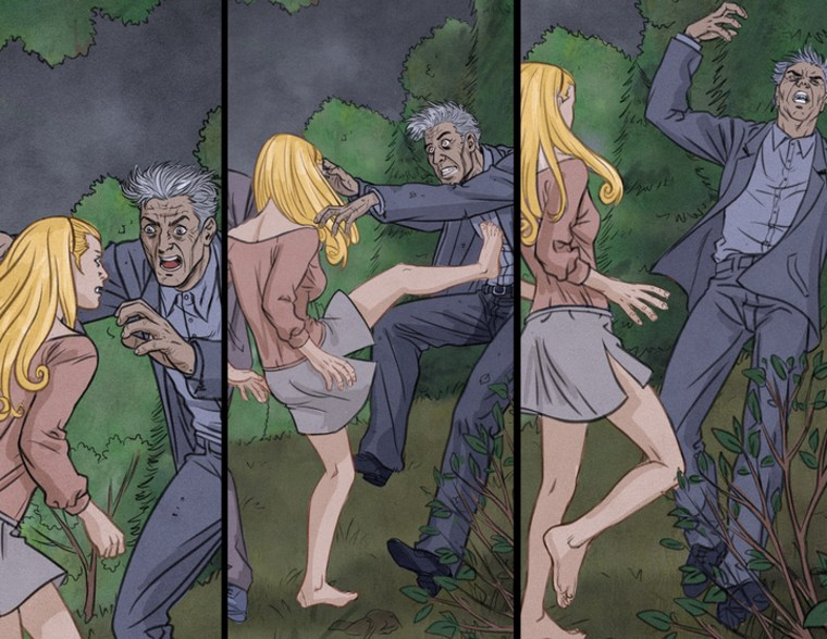 Double Take (2T) will release second wave of 10 issues of Ultimate Night of the Living Dead series on October 11. Color artwork panel from interior spread for Rise 1.