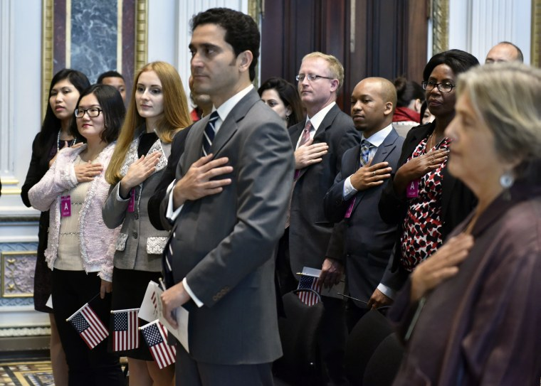 On Monday, October 5, 2015, the White House hosted a special naturalization ceremony that commemorated the 50th anniversary of the 1965 Immigration and Nationality Act (INA).