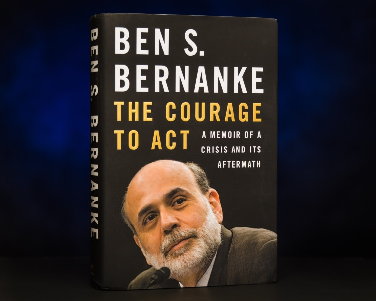 Image: New Ben Bernanke book