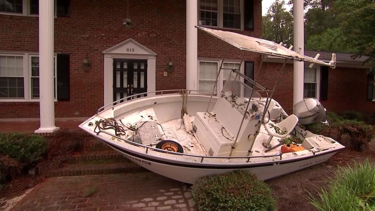 IMAGE: Braden Stoneburner's boat