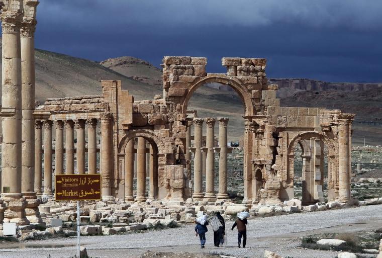 Image: Palmyra's Arch of Triumph