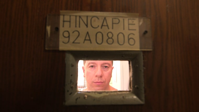 Johnny Hincapie, inmate 92A0806, at Fishkill Correctional Facility.