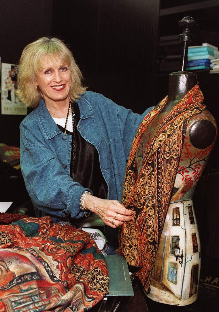 Fashion mogul Carole Little