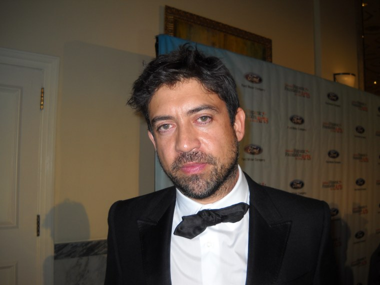 Director and NHFA honoree Alfonso Gomez Rejon, 19th annual Noche de Gala National Foundation for the Arts, Sept 6 2015, The Mayflower Hotel, Washington, D.C.