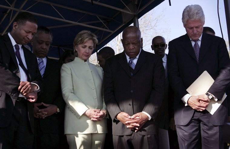 Clinton, Obama Commemorate Historic Selma March