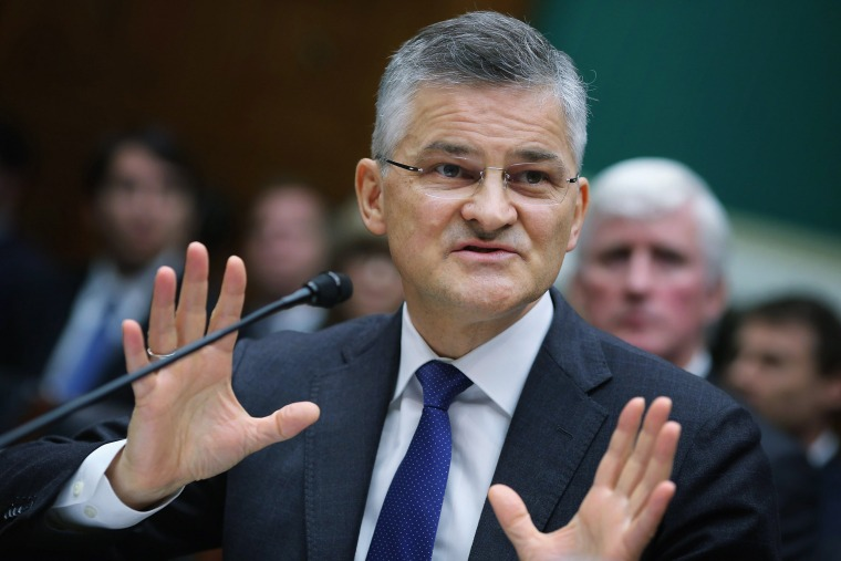 Image: Volkswagen America CEO Michael Hotrn Testifies At House Hearing On Emissions Cheating Scandal