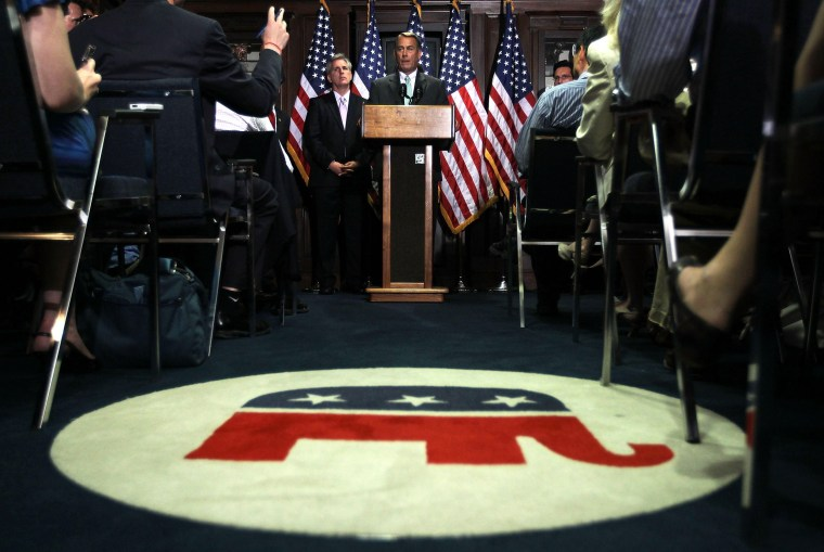 Image: House Republican Leaders Hold Conference Meeting