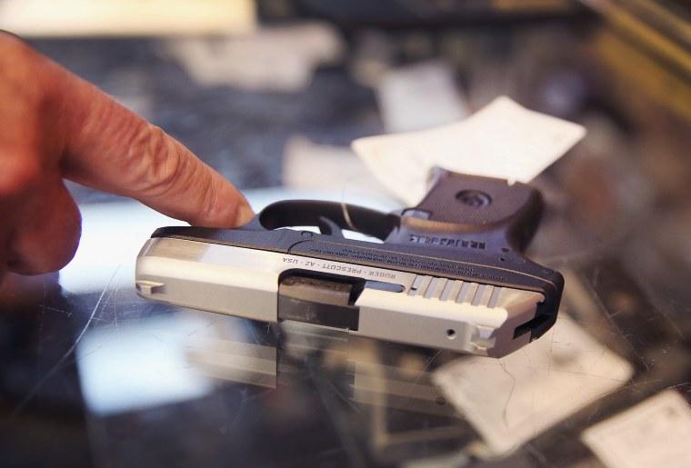 Image: Gun shop