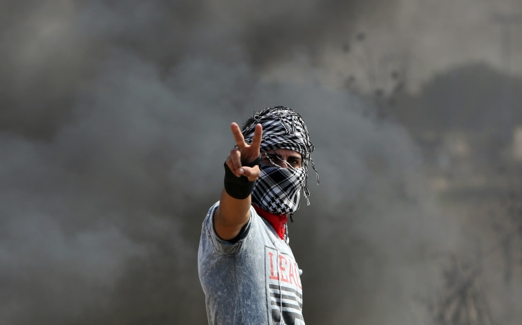 Image: TOPSHOTS-PALESTINIAN-ISRAEL-GAZA-CONFLICT