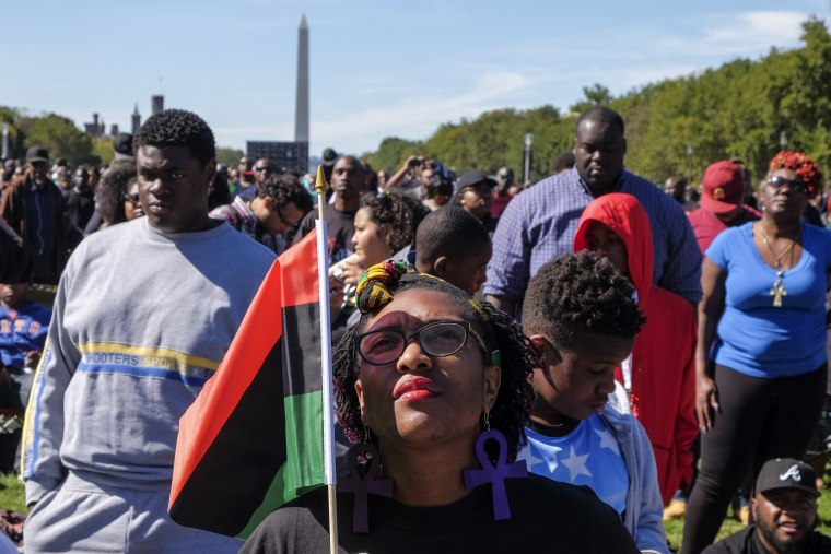Justice or Else Rally: The 20th Anniversary of the Million Man March