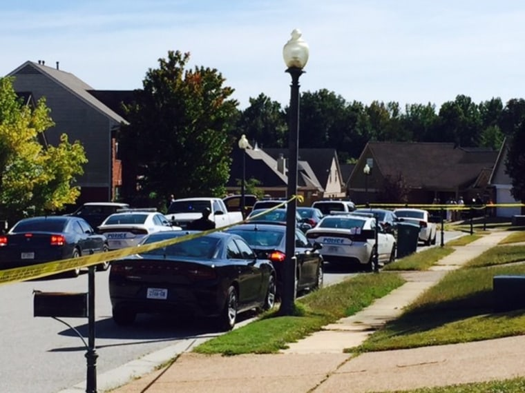 IMAGE: Memphis street where police Officer Terence Olridge was shot
