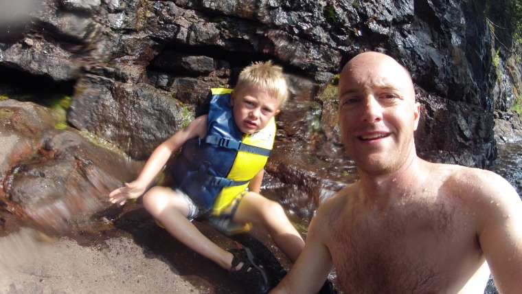 Family reunited with their long lost gopro