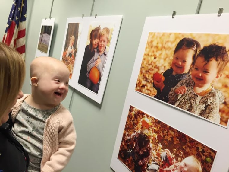 Photographer Laura Kilgus captured children with Down syndrome in a photo series