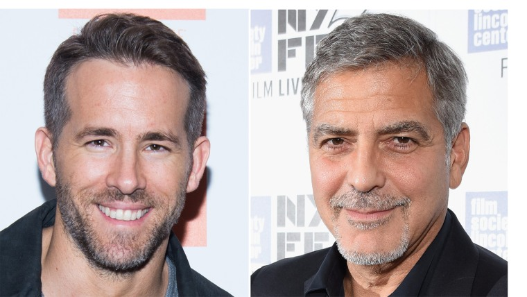 Ryan Reynolds, George Clooney