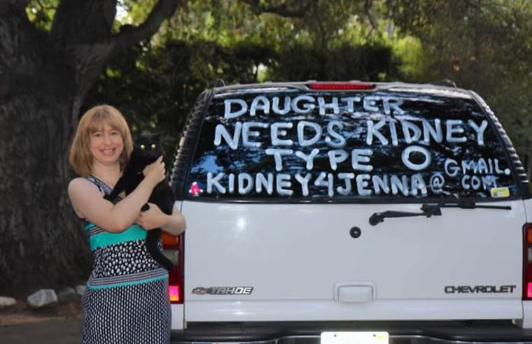 Karol Franks painted the family's cars to find a kidney donor for her daughter