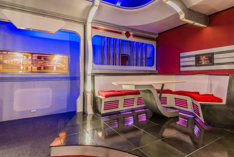 A Houston house that looks like it came straight out of 'Star Trek' is for sale.
