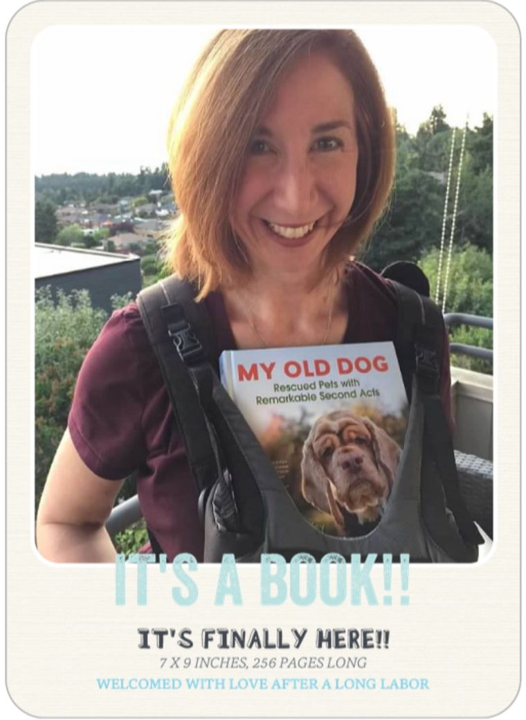 "Laura T. Coffey's ""It's a Book!"" birth announcement"
