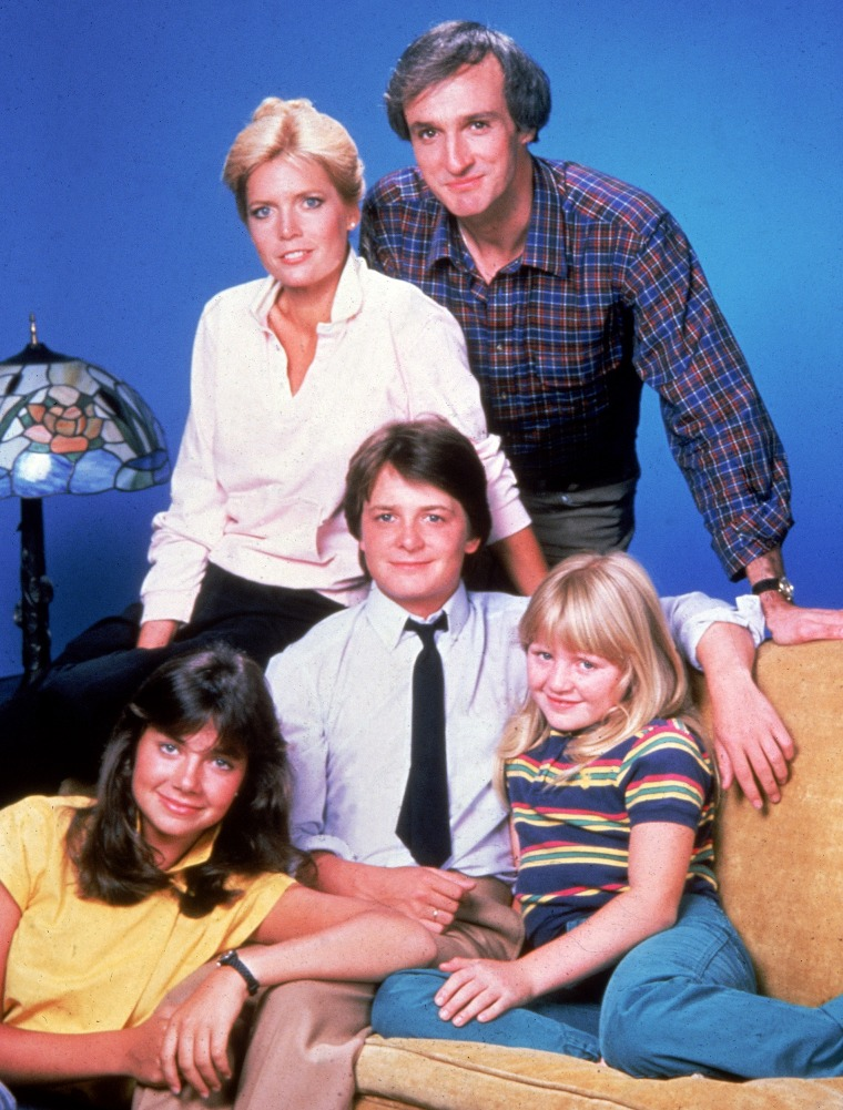Image: Cast Of 'Family Ties'