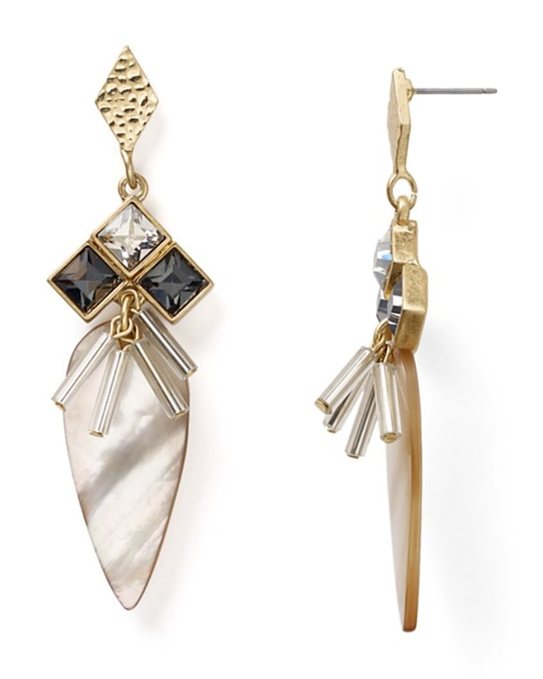 Dylan Gray Mother of Pearl Dangle Earrings