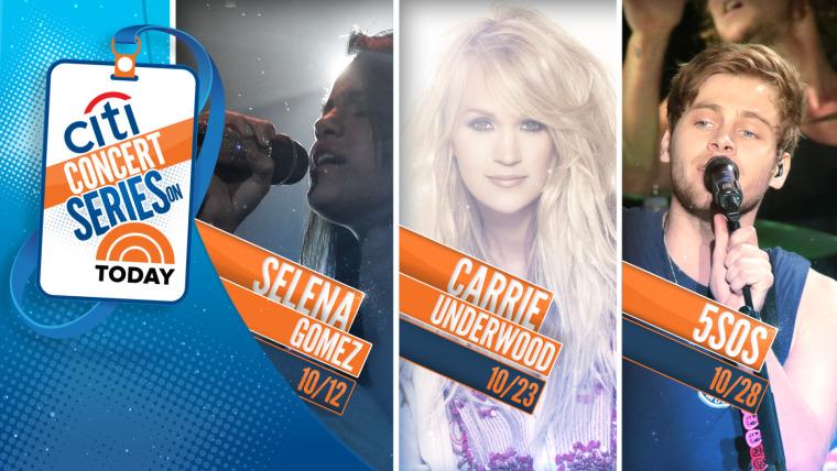 Selena, Gomez, Carrie Underwood, 5 Seconds of Summer