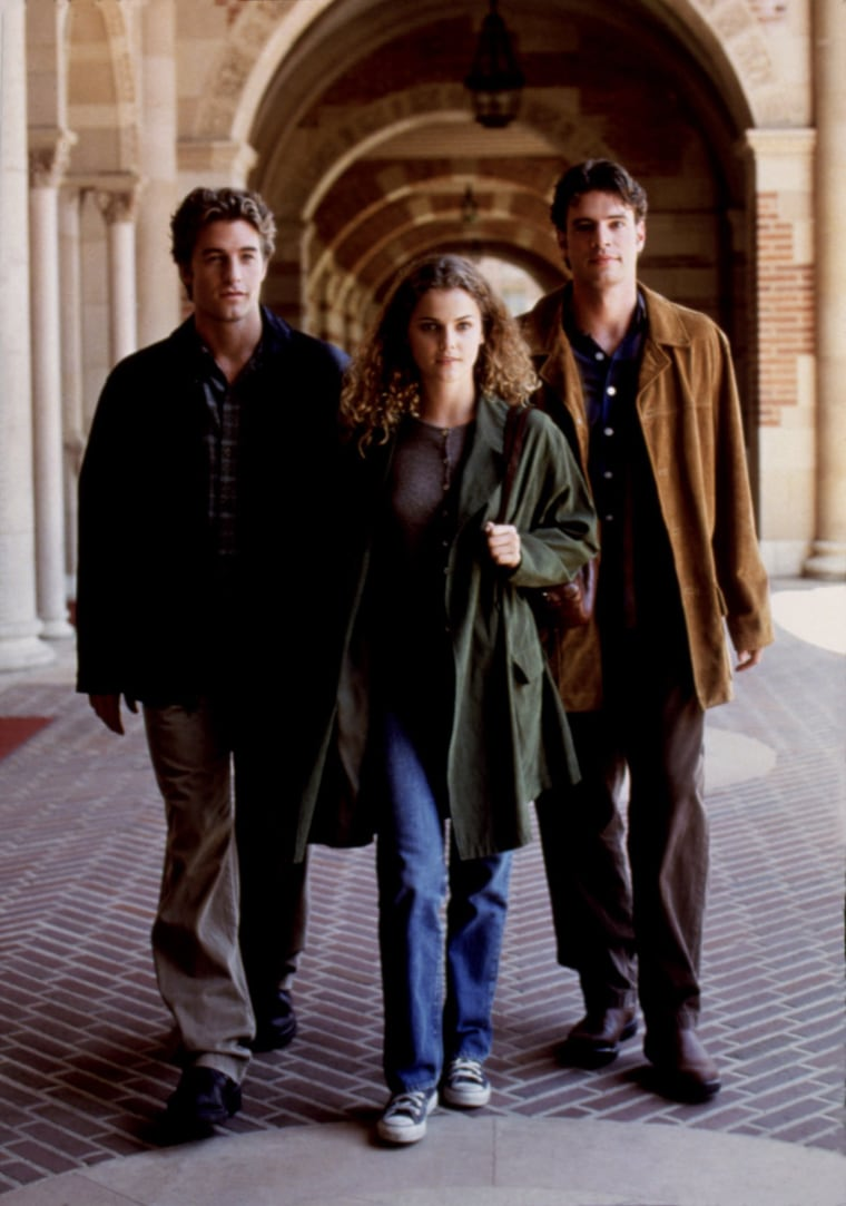FELICITY, Scott Speedman, Keri Russell, Scott foley, 1998-2002