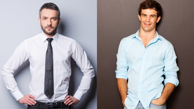 Should men tuck in their shirts?