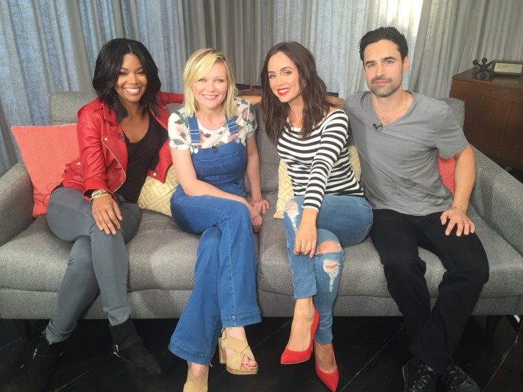 """The cast of the 2000 movie """"Bring It On"""" reunited in 2015 to discuss the movie with TODAY."""