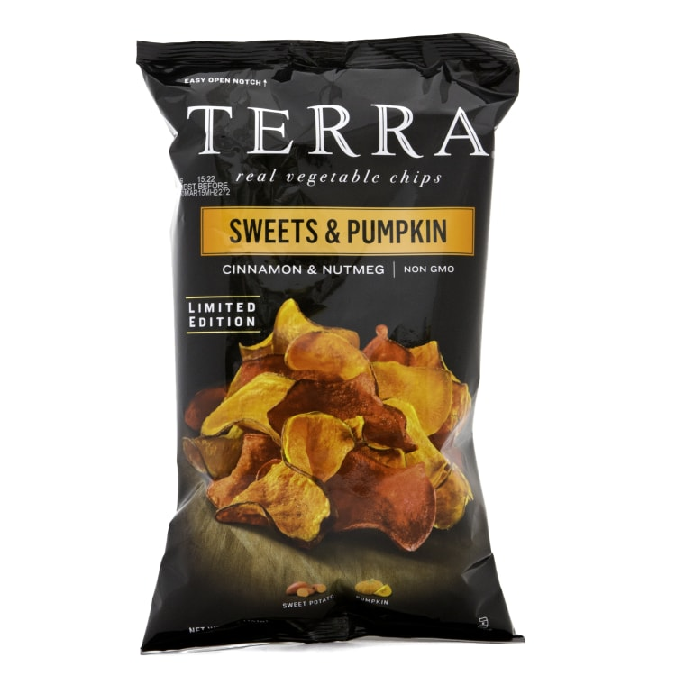 Terra Sweets and Pumpkin Chips