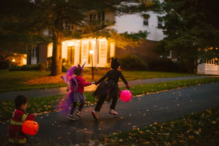 """""""Watch for upcoming pockets of lights along the sidewalk, street, or as they approach the porch light - these are great opportunities to add drama and dimension to those nighttime photos,"""" says Wilkerson."""