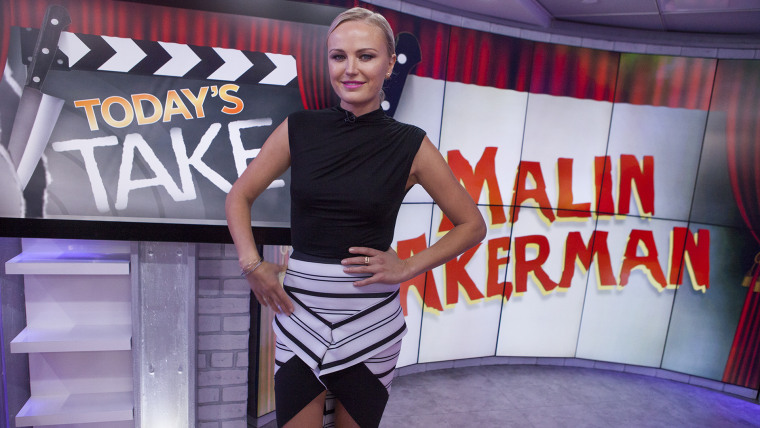 Malin Akerman visits TODAY's Take, Friday October 9, 2015.
