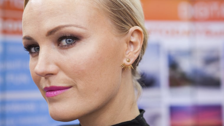 Malin Akerman visits TODAY, Friday October 9, 2015.