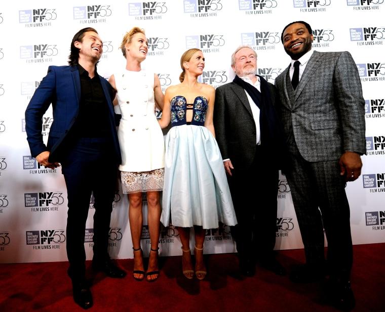 "Image: 53rd New York Film Festival - ""The Martian"" Premiere - Red Carpet"