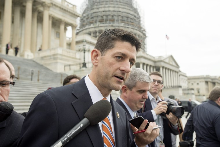 Image: Representative from Wisconsin Paul Ryan