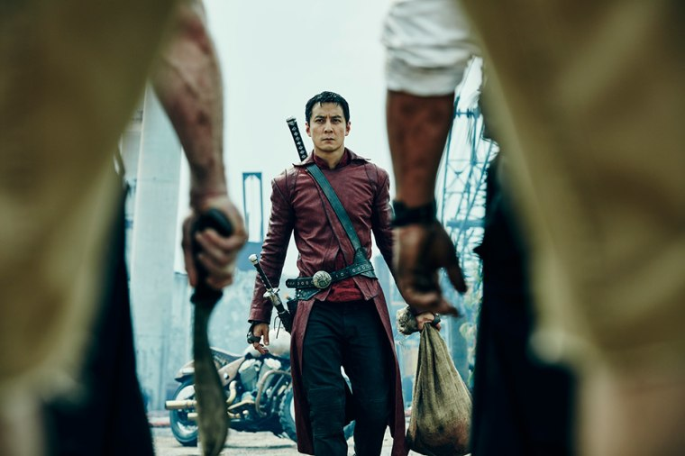 "Daniel Wu as Sunny in AMC's original series ""Into the Badlands"""