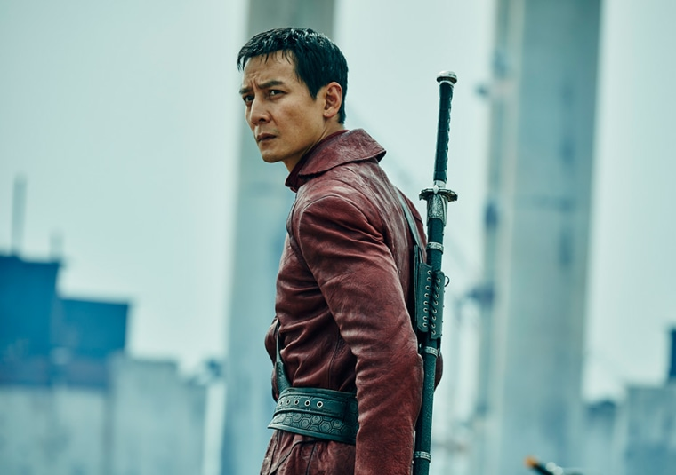 "Daniel Wu plays Sunny in AMC's new show ""Into the Badlands."""