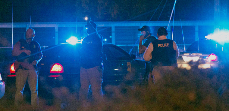 Image: Standoff Ends in Brookhaven, Mississippi With Suspect Dead