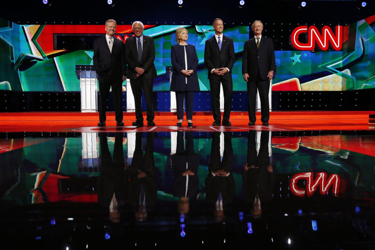 Image: U.S. Democratic Presidential debate