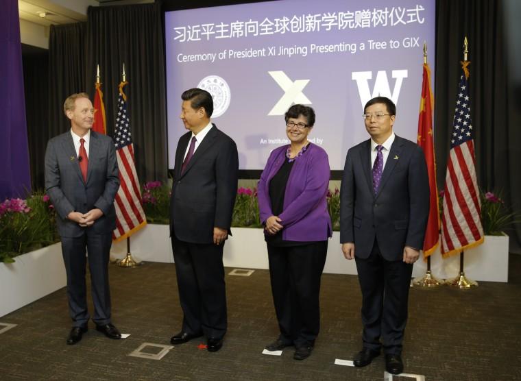 Image: Chinese President Xi Jinping Visits Washington State