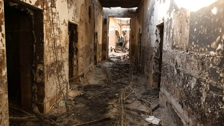 Image: Kunduz Doctors Without Borders hospital