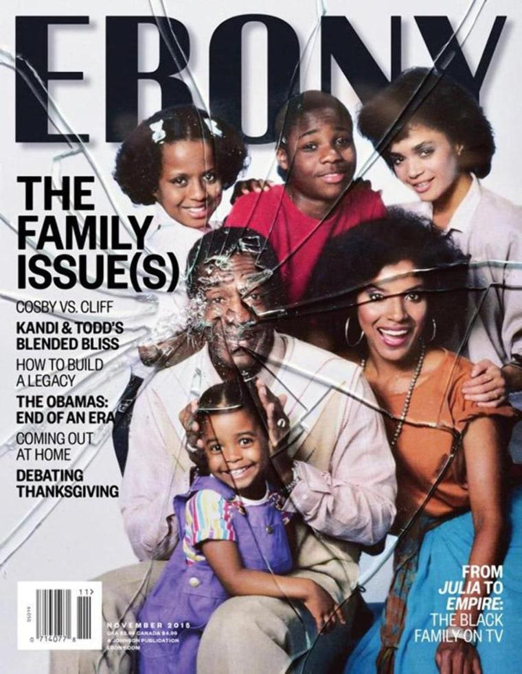 IMAGE: November 2015 cover of Ebony magazine